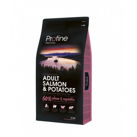 15kgs NEW Profine SAUMON 24/14 super prémium adulte croquettes chien