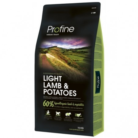 Profine AGNEAU LAMB LIGHT 25 / 9 super prémium 15kgs croquettes chiens